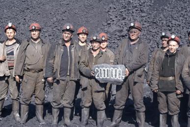 Двухмиллионная тонна угля с начала текущего года была добыта бригадой А Титова